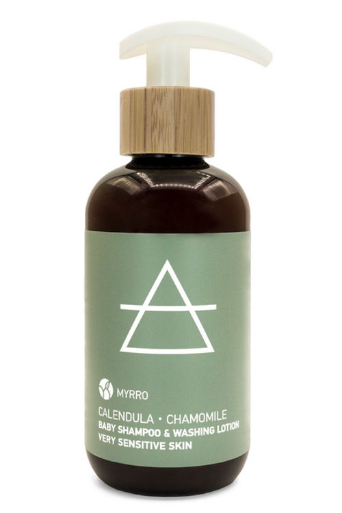 MYRRO Baby šampon a mycí gel MYRRO
