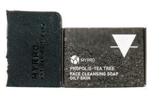 MYRRO MYRRO Čistící mýdlo na obličej pro Mastnou nebo Aknózní pleť