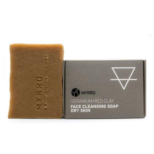 MYRRO Čistící mýdlo na obličej pro suchou pleť MYRRO