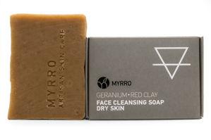 MYRRO MYRRO Čistící mýdlo na obličej pro Suchou pleť
