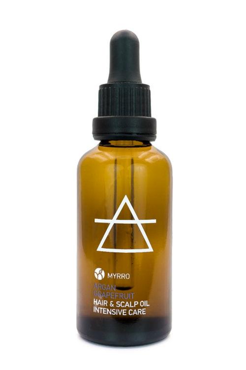MYRRO Olej pro intenzivní péči o vlasy a vlasovou pokožku MYRRO