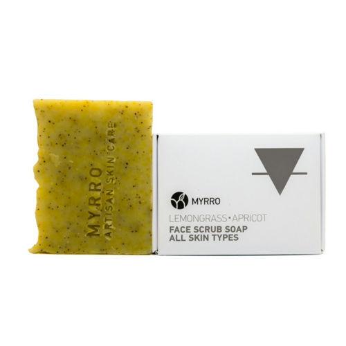 MYRRO Peelingové mýdlo pro všechny typy pleti MYRRO