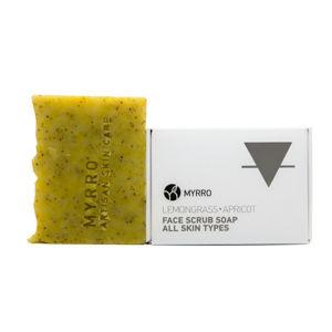 MYRRO MYRRO Peelingové mýdlo pro všechny typy pleti