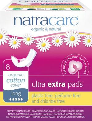 NATRACARE NATRACARE menstruační vložky ultra extra long s křidélky