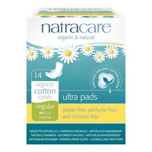 NATRACARE NATRACARE menstruační vložky ultra regular s křidélky