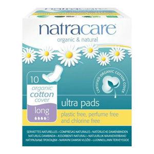 NATRACARE NATRACARE menstruační vložky ultra long s křidélky