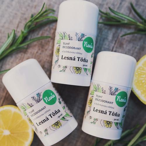 Recenze Tuhý deodorant - Lesní tůně