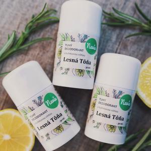 Navia Tuhý deodorant - Lesní tůně