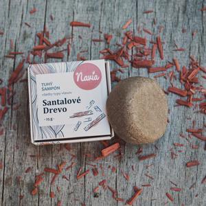 Navia Tuhý šampón - Santalové dřevo 25 g