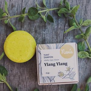 Navia Tuhý šampón - Ylang Ylang 25 g