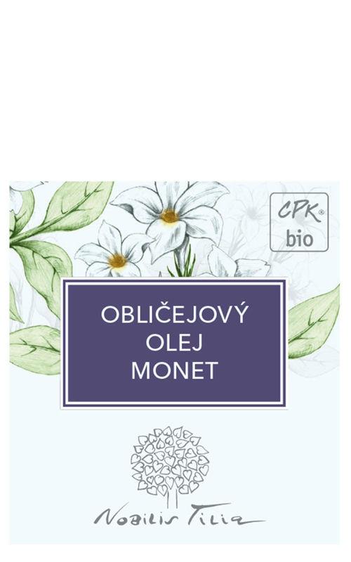 NOBILIS TILIA VZOREČEK Obličejový olej Monet expirace 6/2021 Nobilis Tilia