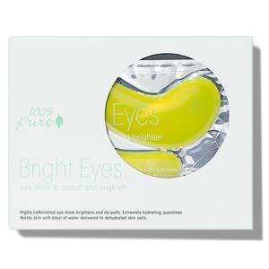 100% Pure Oční maska rozjasňující 5 ks
