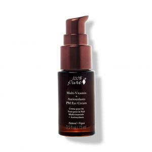 100% Pure Oční noční krém Multivitamín a antioxidanty