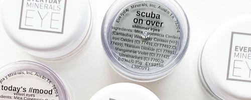 Oční stíny jako dárek k minerálnímu make-upu