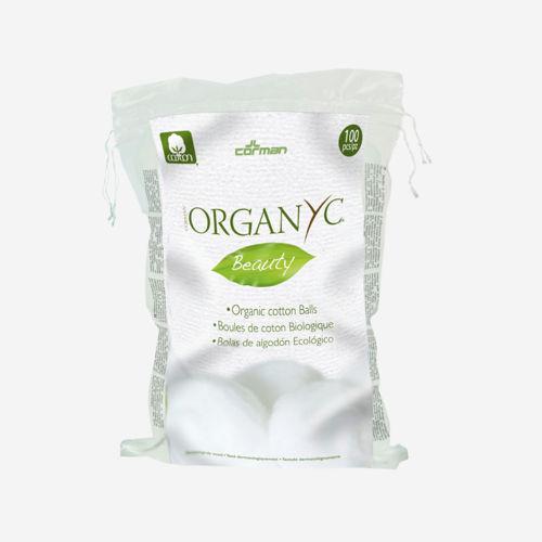 ORGANYC Odličovací vatové tampony z bio bavlny Organyc