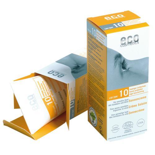 Opalovací krém SPF 10 BIO Eco Cosmetics