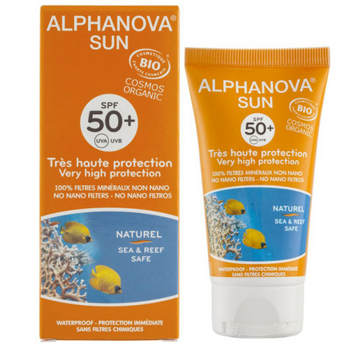 Opalovací krém SPF 50+ Alphanova