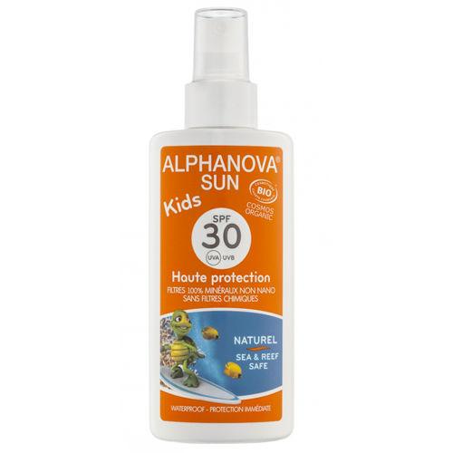 Opalovací krém ve spreji pro děti SPF 30 Alphanova