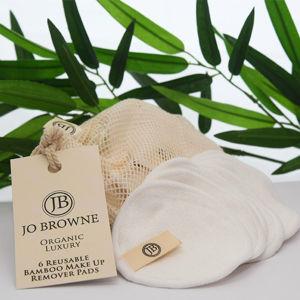 JO BROWNE Organické bambusové odličovací tamponky pro opakované použití