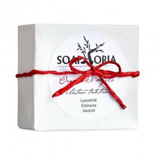 Organické mýdlo na lupénku, ekzém a problematickou pokožku s vlastní tinkturou Soaphoria