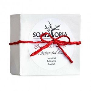 Soaphoria Organické mýdlo na lupénku, ekzém a problematickou pokožku s vlastní tinkturou