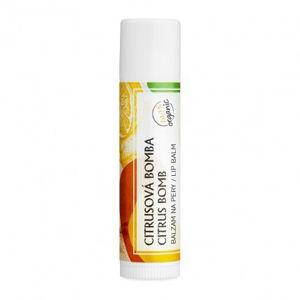 Soaphoria Organický balzám na rty Citrus
