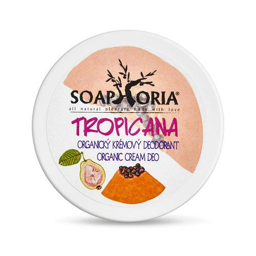 Organický krémový deodorant Tropicana Soaphoria