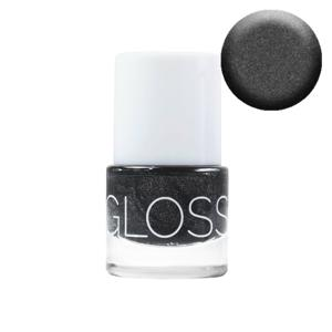 GlossWorks Organický lak na nehty Anthracite