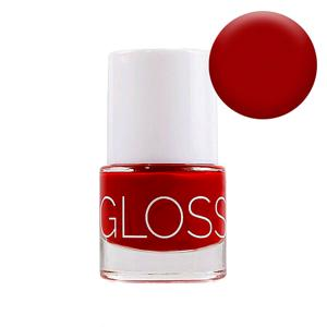 GlossWorks Organický lak na nehty Red Devil