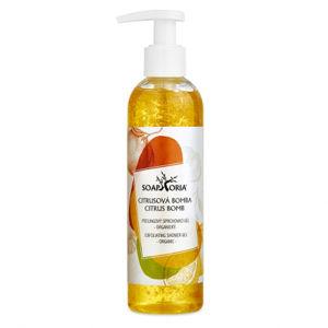 Soaphoria Organický peelingový sprchový gel Citrusová bomba