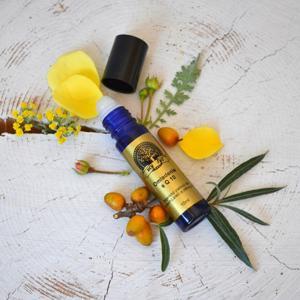 """my-sys Organický pleťový olej na suchou, citlivou a zralou pleť """"OMLAZENÍ"""" roll-on"""