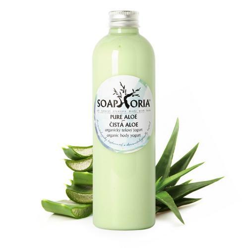 Přírodní tělový jogurt Čistá aloe vera Soaphoria