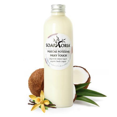 Organický tělový jogurt Mléčné potěšení Soaphoria