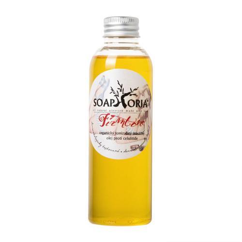 Organický tonizační masážní olej proti celulitidě Firmtone Soaphoria