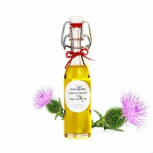 Ostropestřecový olej Soaphoria