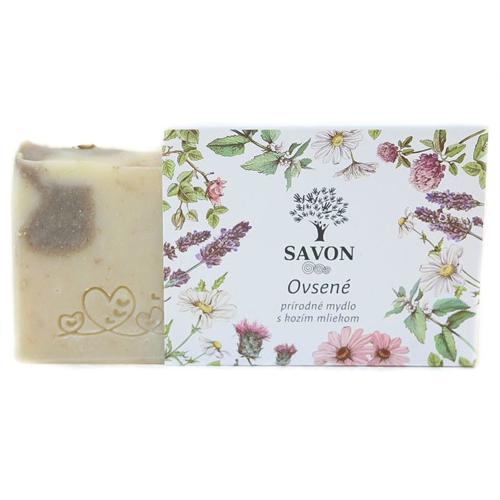 Ovesné - přírodní mýdlo s kozím mlékem Savon