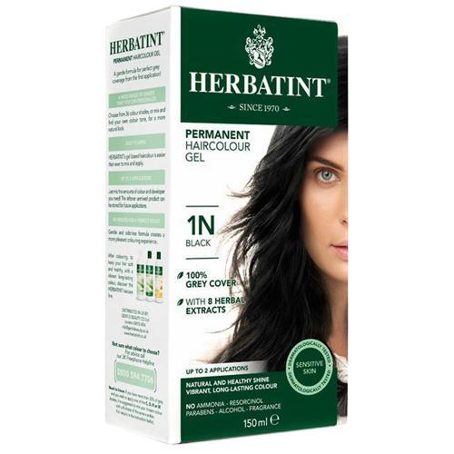 Permanentní barva na vlasy Černá 1N Herbatint