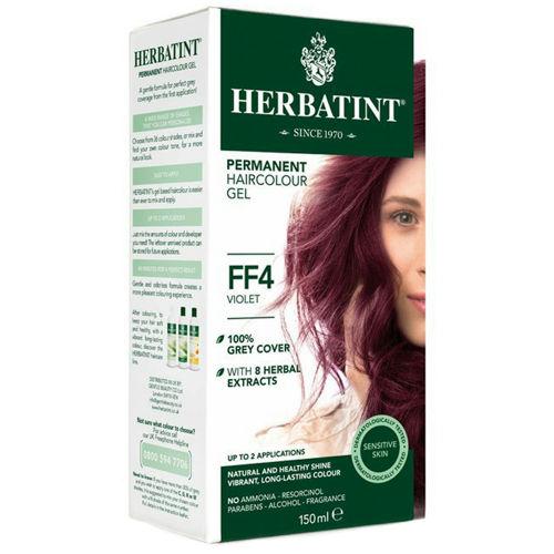 Permanentní barva na vlasy Fialová FF4 Herbatint