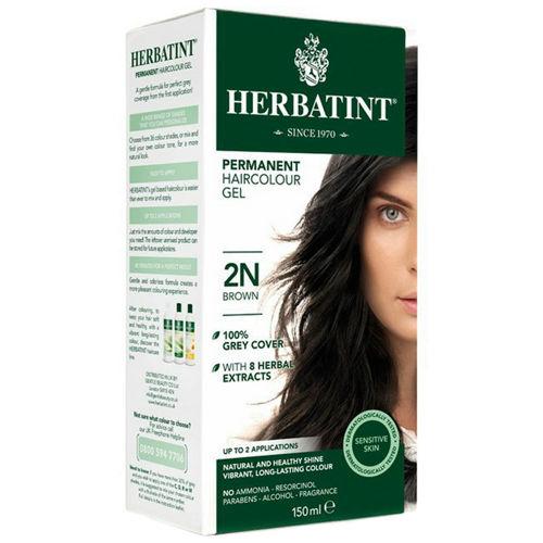 Permanentní barva na vlasy Hnědá 2N Herbatint