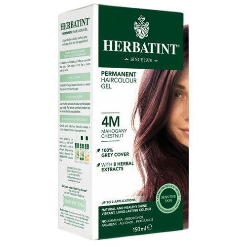 Permanentní barva na vlasy Mahagonový kaštan 4M Herbatint