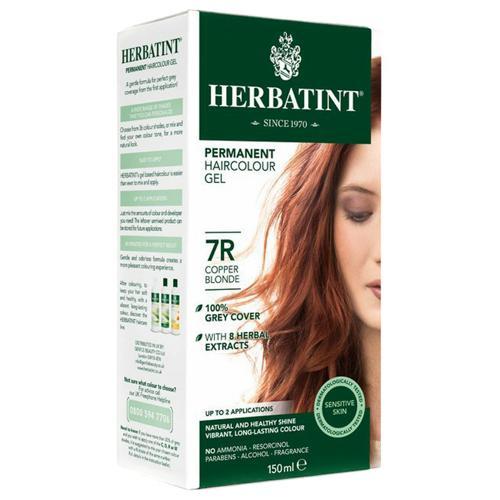 Permanentní barva na vlasy Měděná blond 7R Herbatint