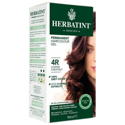 Permanentní barva na vlasy Měděný kaštan 4R Herbatint