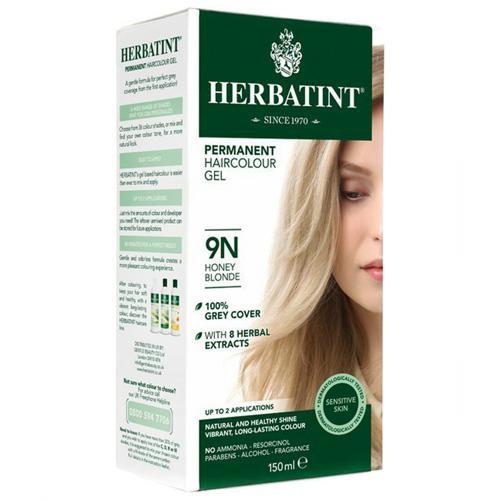 Permanentní barva na vlasy Medová blond 9N Herbatint