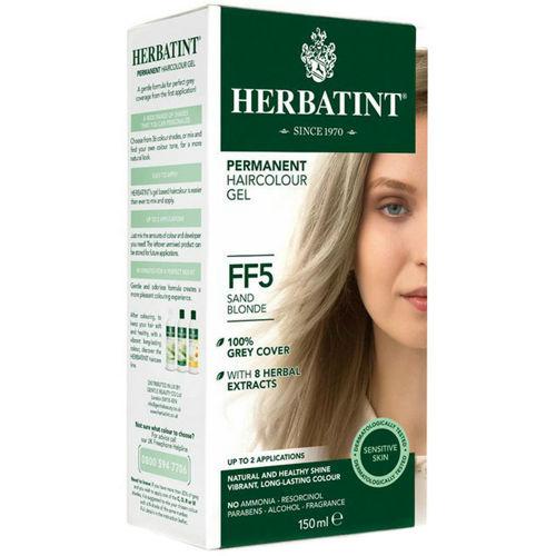 Permanentní barva na vlasy Písková blond FF5 Herbatint