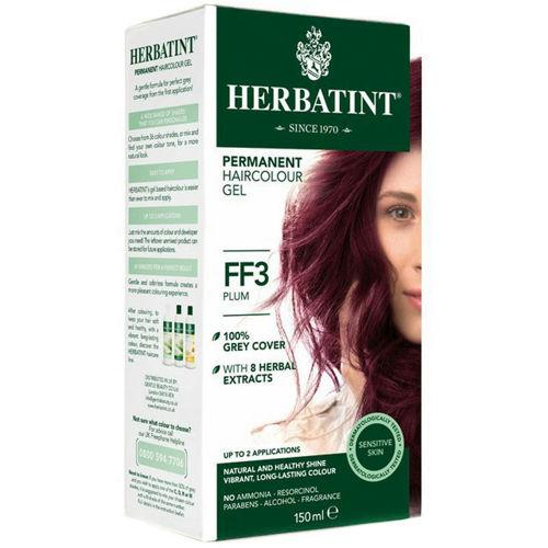 Permanentní barva na vlasy Švestka FF3 Herbatint