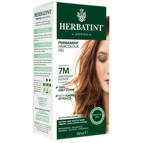 Permanentní barva na vlasy Světle mahagonová blond 7M Herbatint