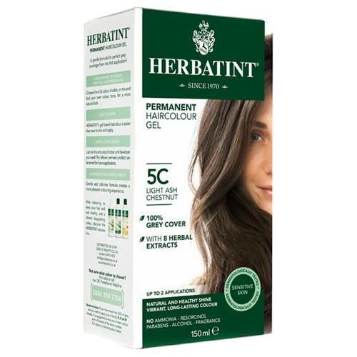 Permanentní barva na vlasy Světlý popelavý kaštan 5C Herbatint