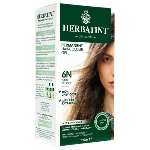 Permanentní barva na vlasy Tmavá blond 6N Herbatint
