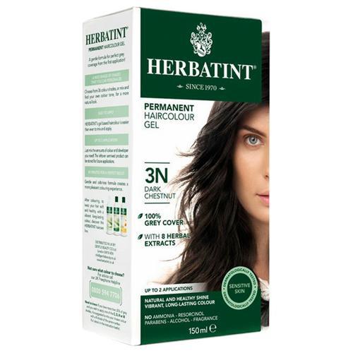 Permanentní barva na vlasy Tmavý kaštan 3N Herbatint