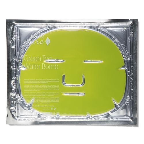 Pleťová hydratační maska Zelený čaj 100% Pure